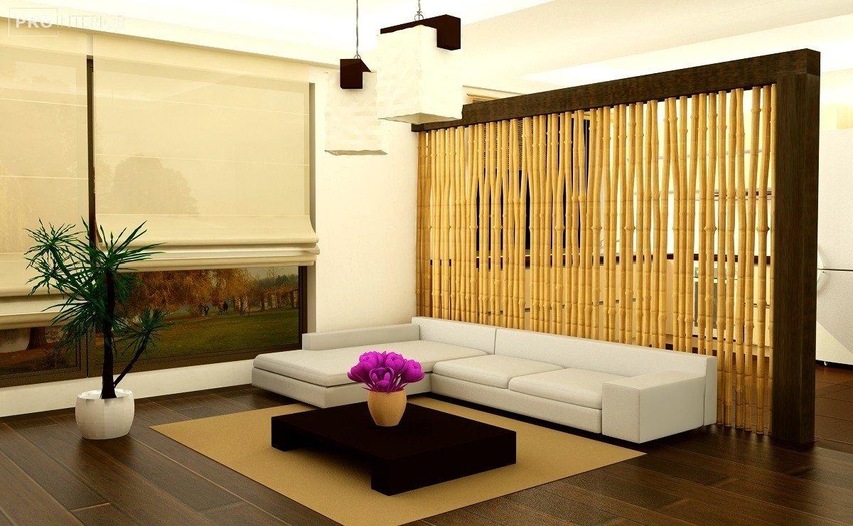бамбук в інтер'єрі