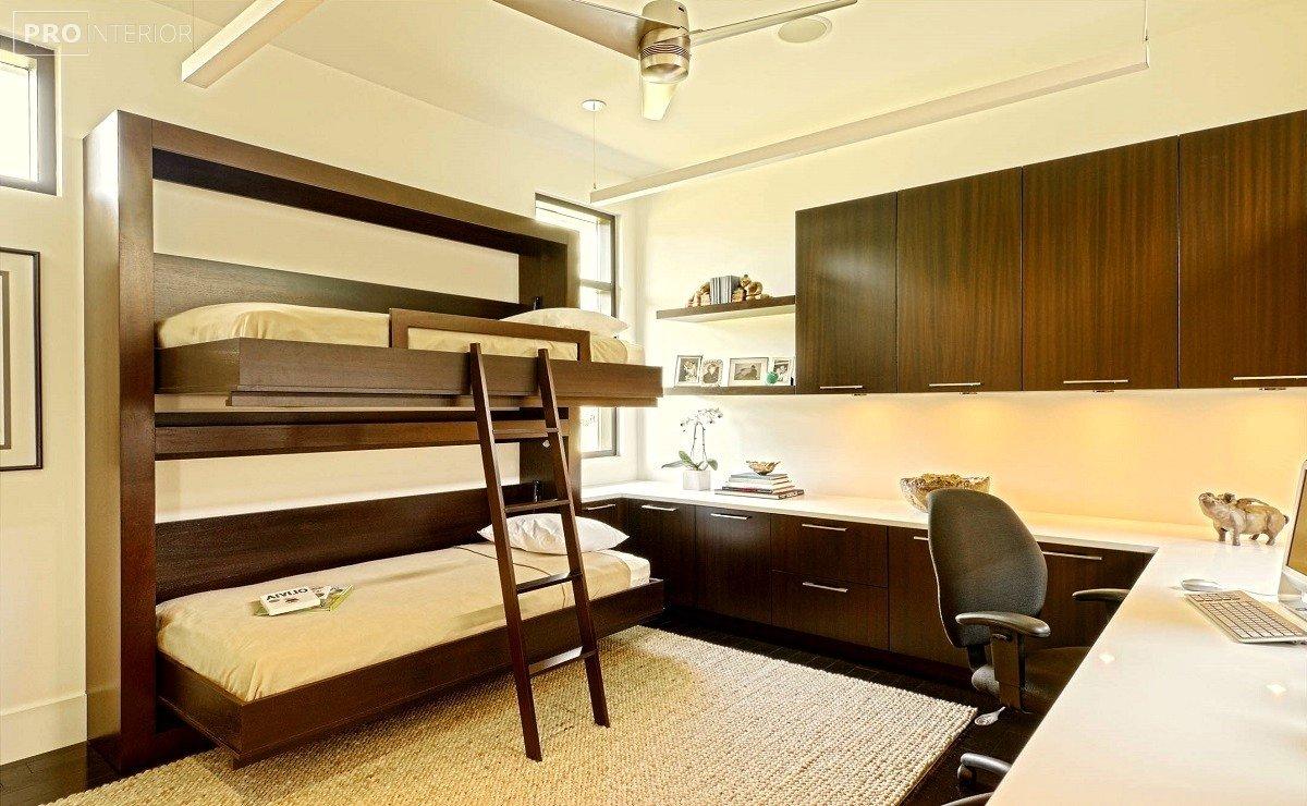 ліжко двоярусне фото