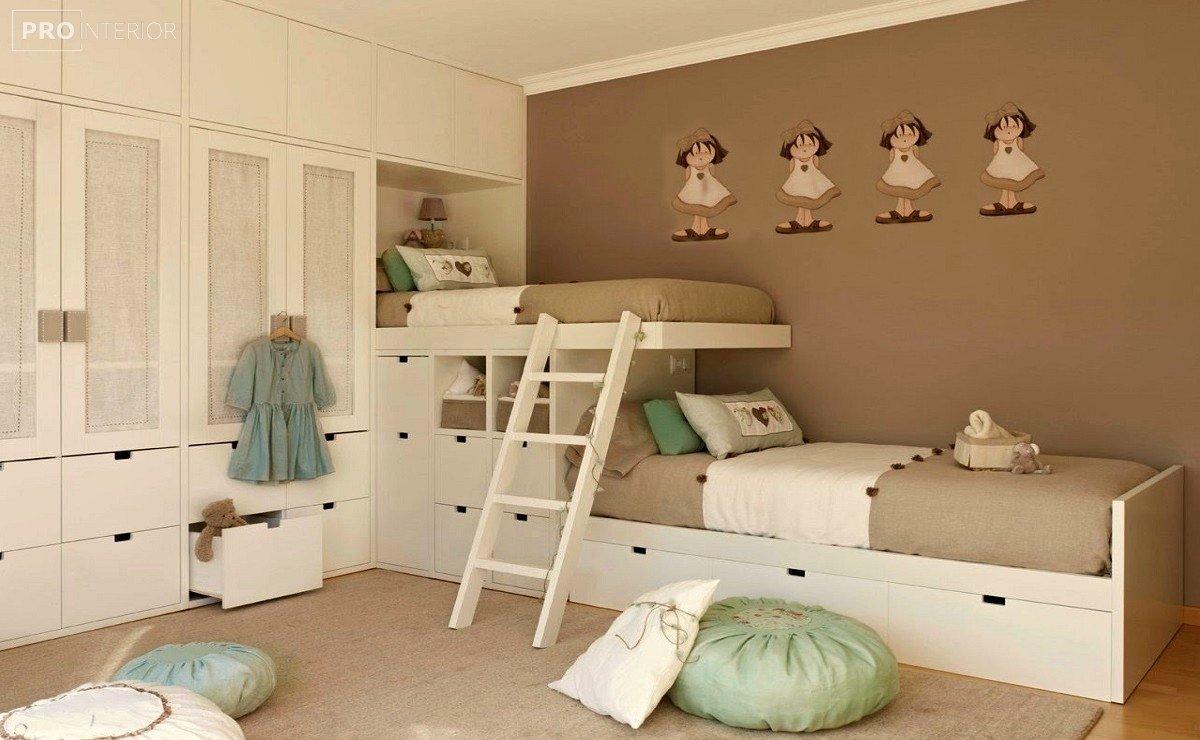 ліжко двоярусне для дітей