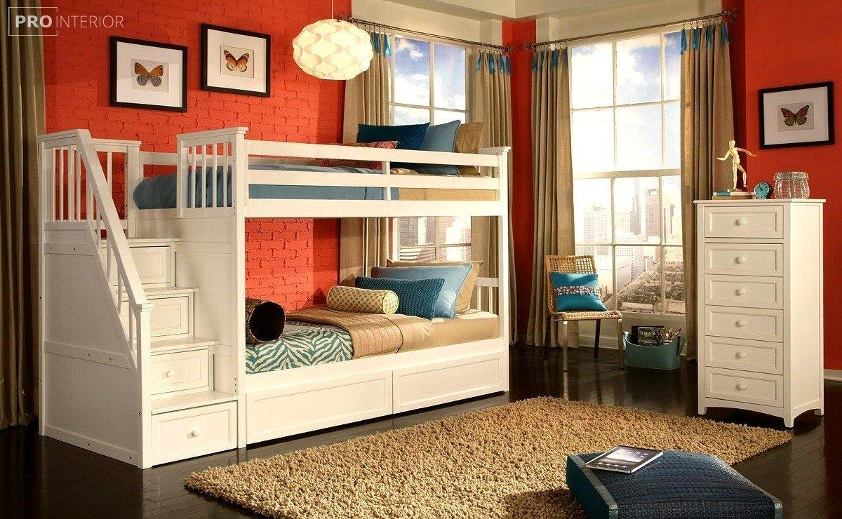 фото ліжко двоярусне