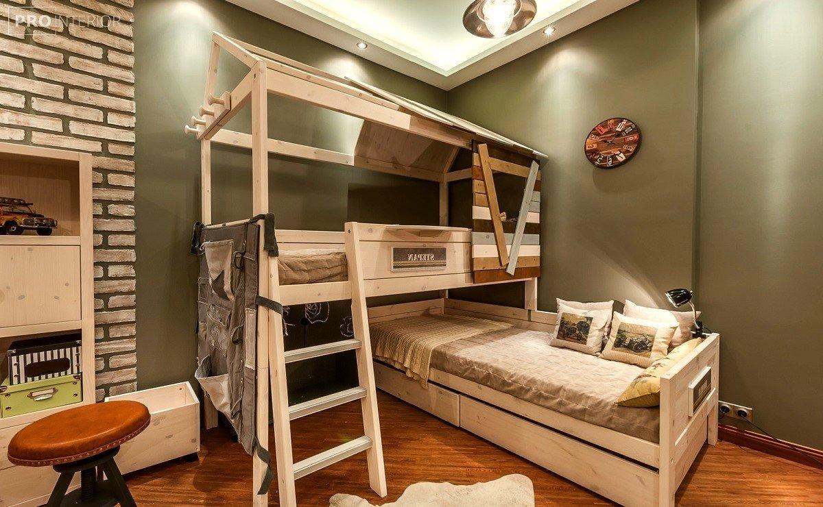 двох'ярусне ліжко для дітей