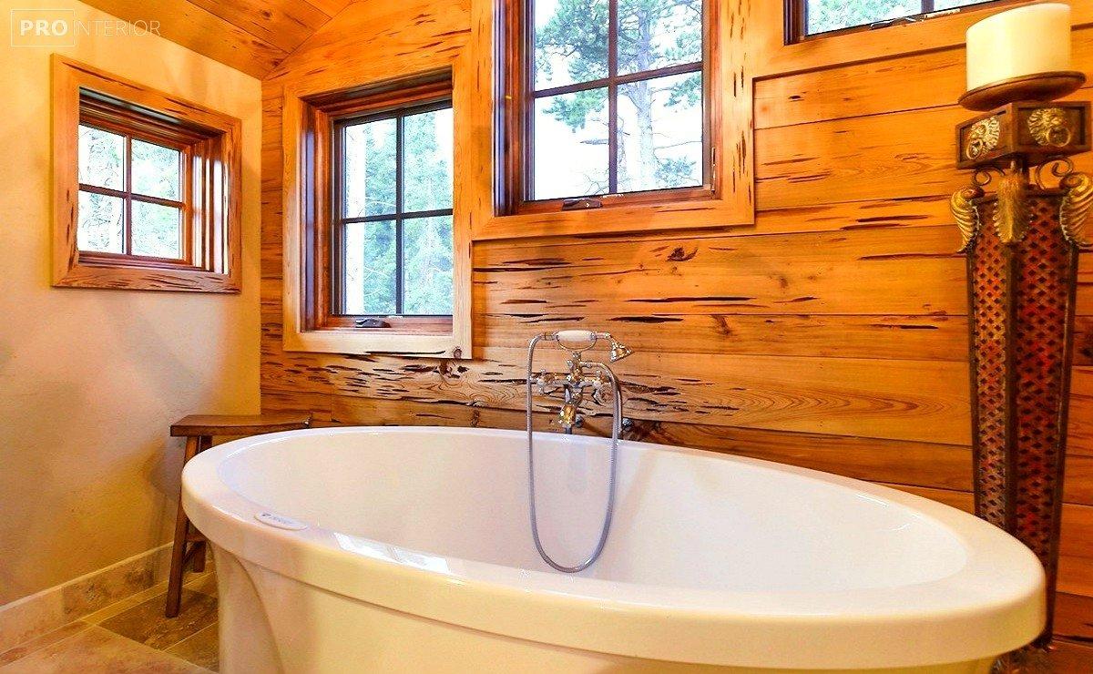 канадський стиль у ванній фото