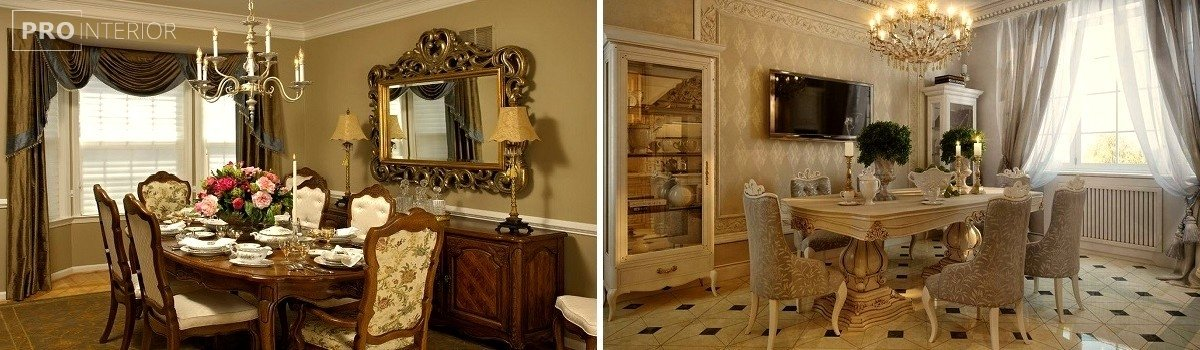 меблі в стилі класицизму