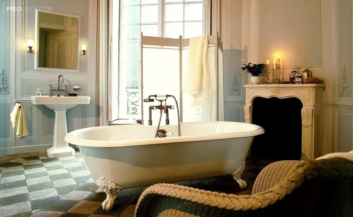 класичний стиль у ванній фото