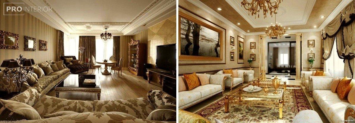 інтер'єр будинку в стилі класицизму