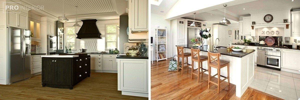 кухня в англійському стилі фото