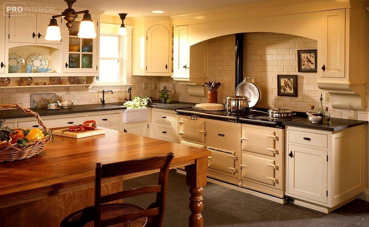 дизайн кухні в англійському стилі