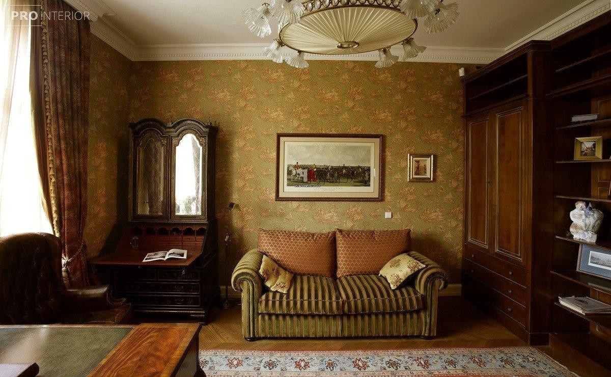 інтер'єр спальні в англійському стилі
