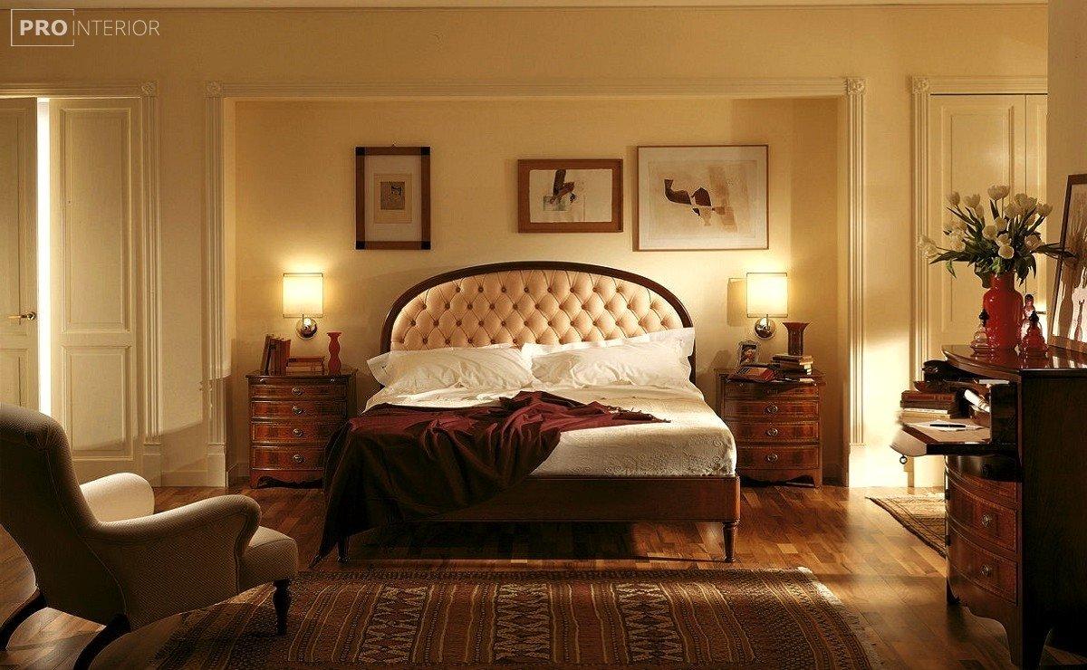 фото спальні в англійському стилі