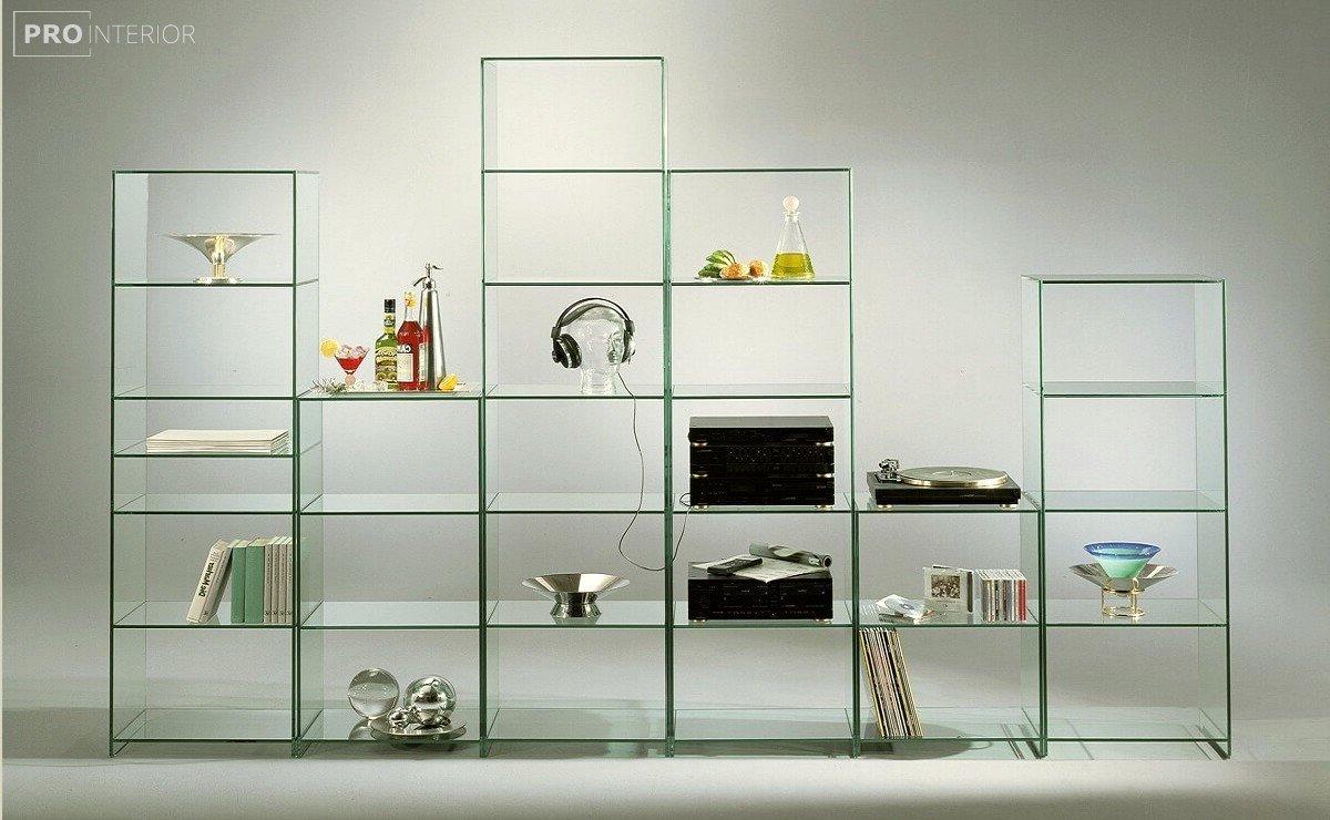 стиль стеклянная мебель в интерьере