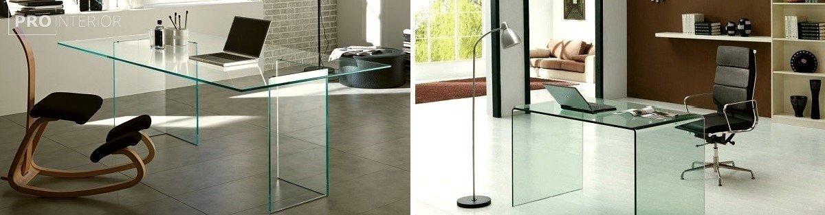 стиль стеклянная мебель