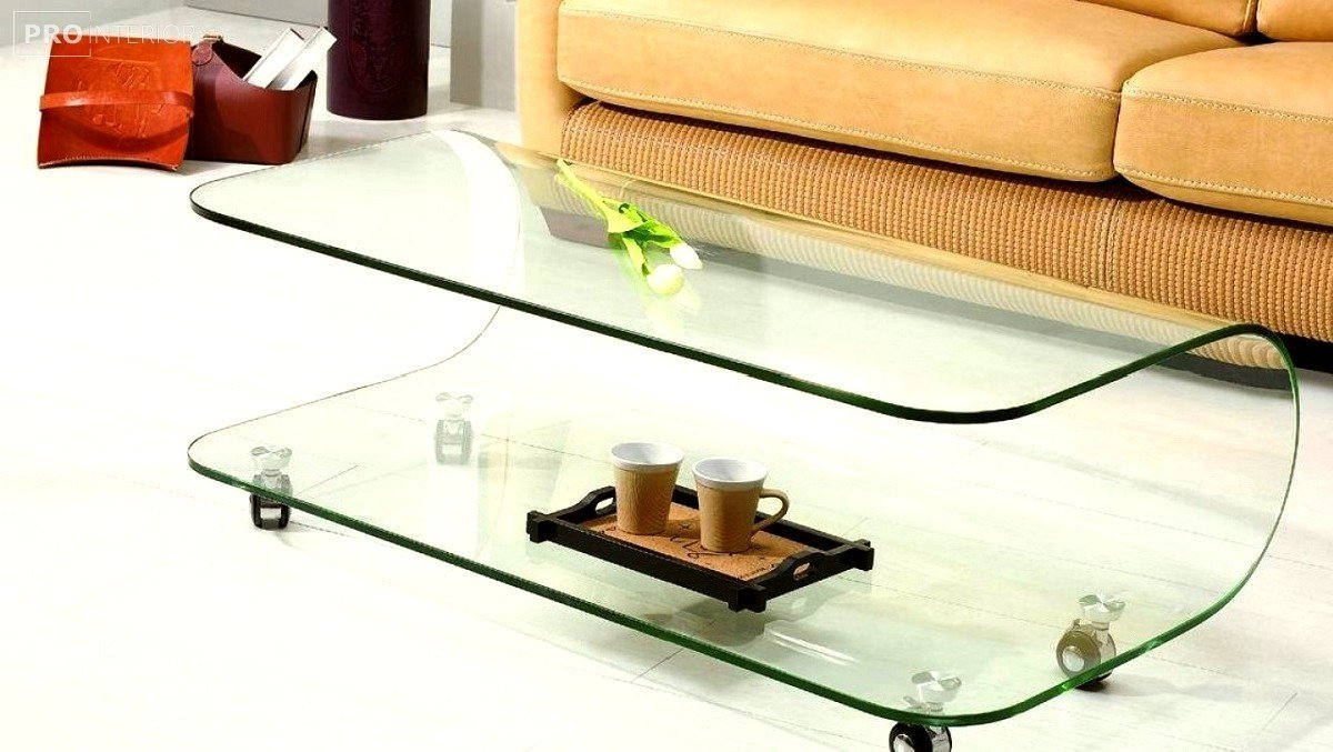стеклянная мебель интерьер фото