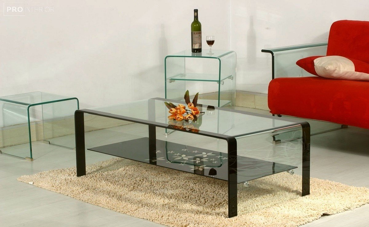 дизайн мебель из стекла фото