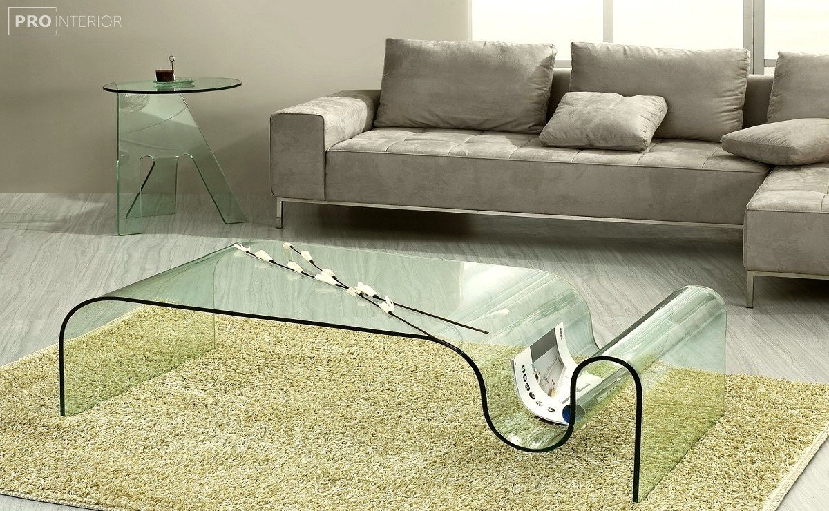 мебель из стекла в интерьере фото