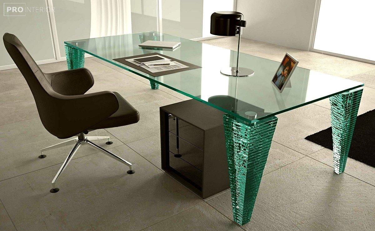 стиль мебель из стекла