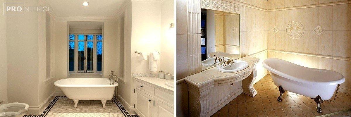 греческий стиль в ванной