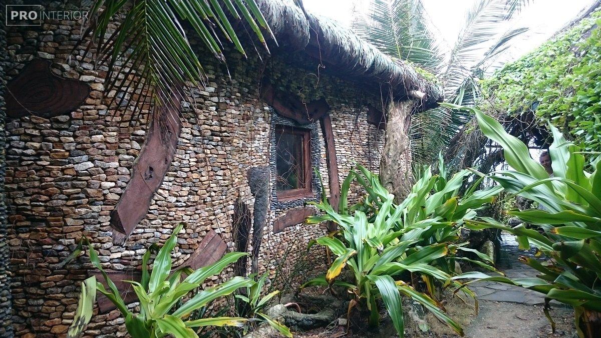 островной стиль дома