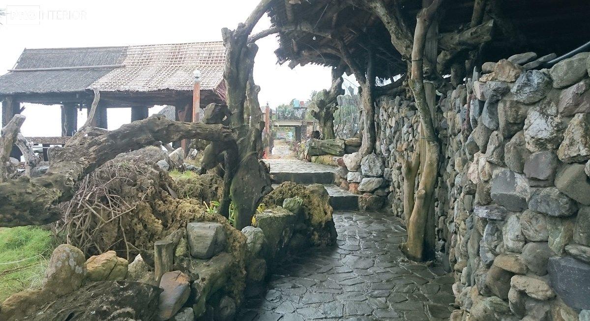 экстерьер в тропическом стиле фото