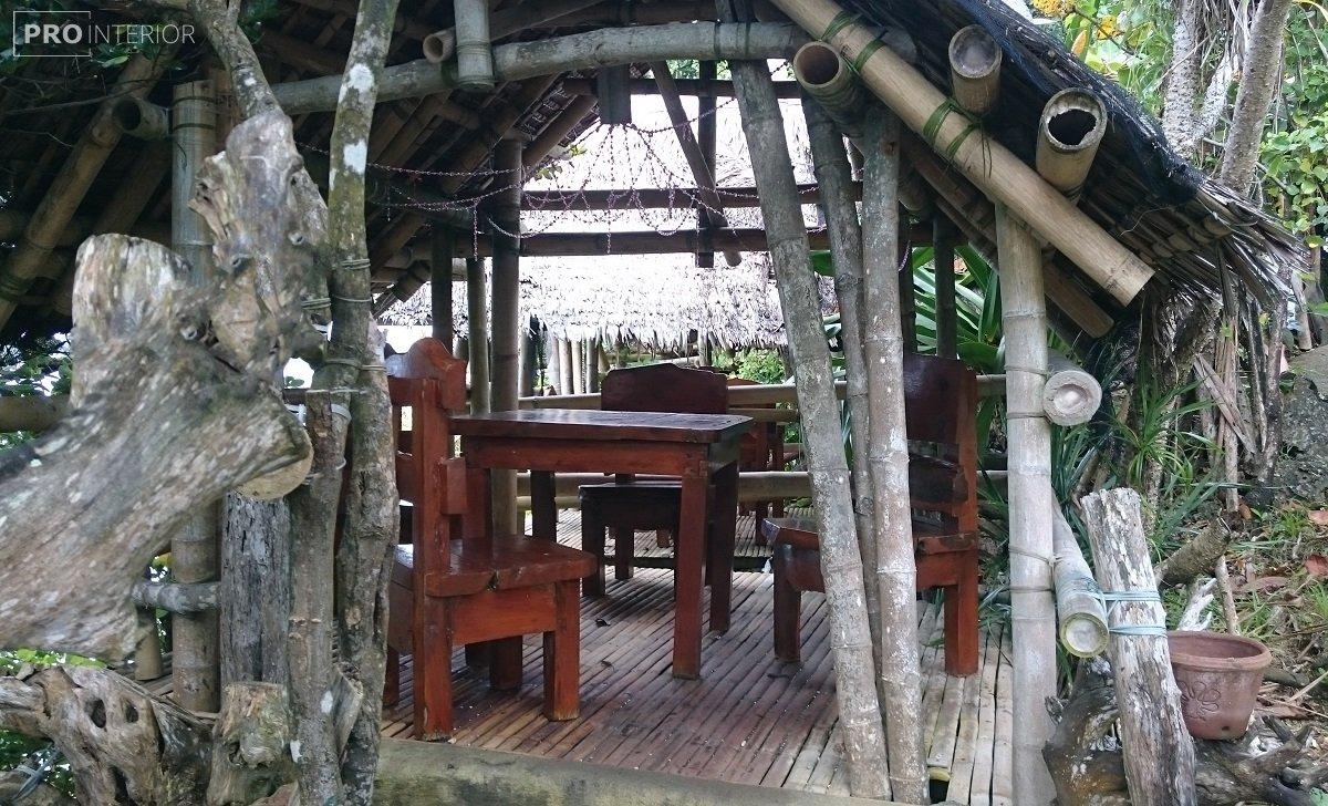 экстерьер в тропическом стиле