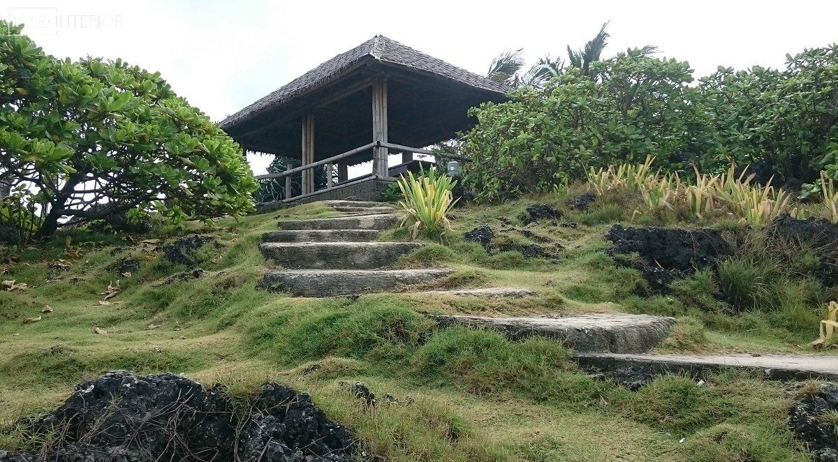 экстерьер в островном стиле