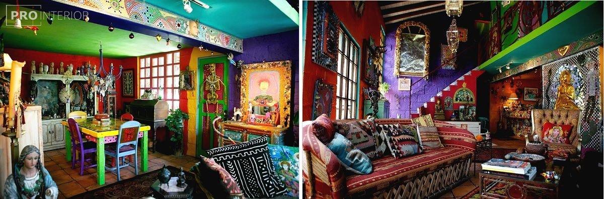 кімната в мексиканському стилі