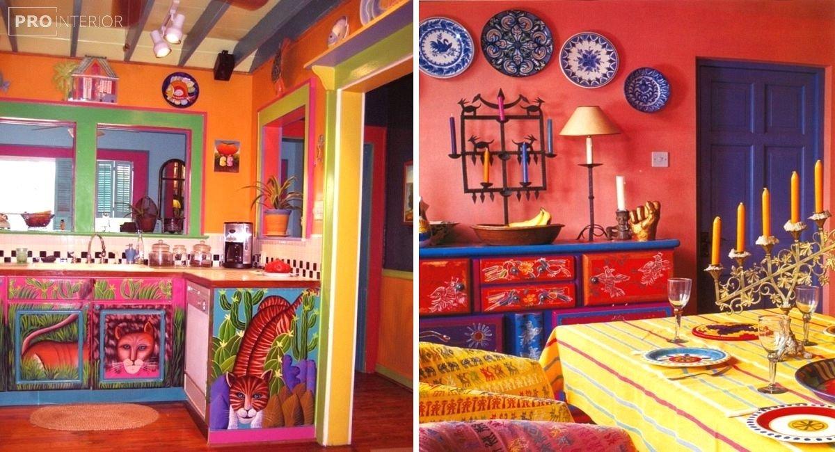 дом в мексиканском стиле фото