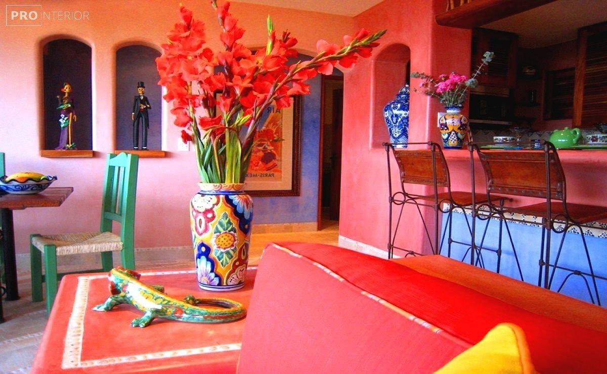 жилище в мексиканском стиле