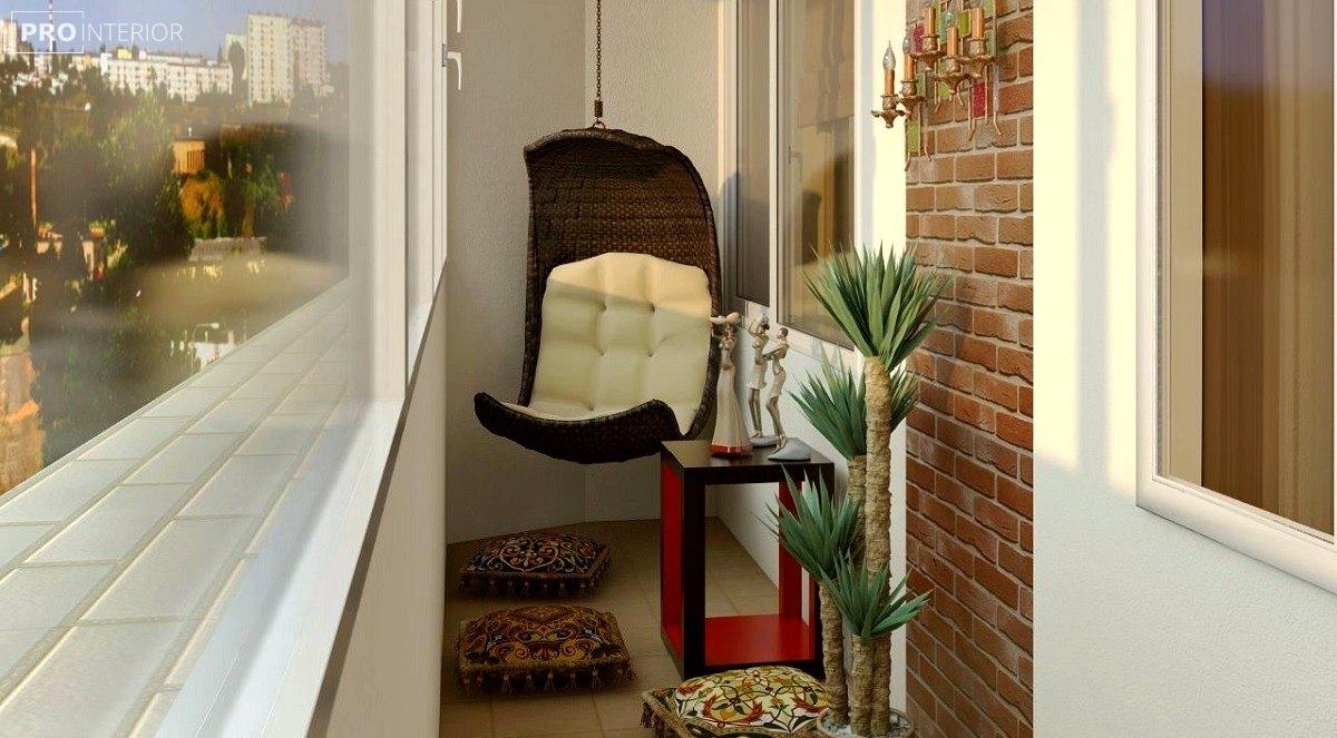 Балконы в стиле лофт: фото и идеи.
