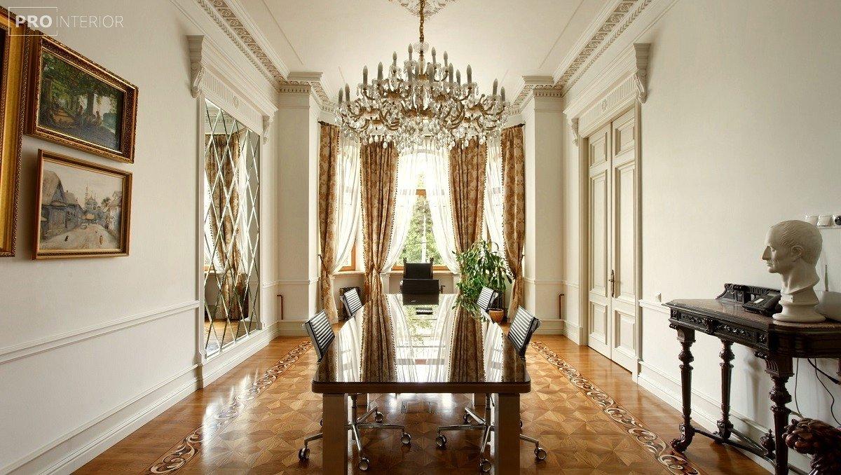 интерьер гостинной в стиле неоклассицизм