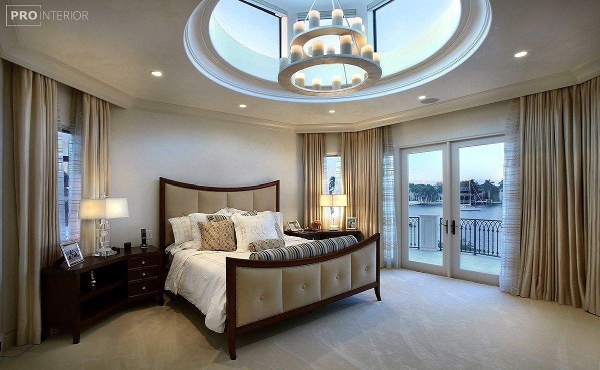 інтер'єр спальні в стилі неокласицизм