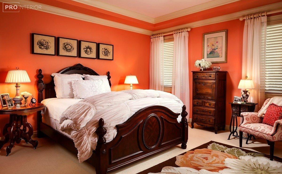 інтер'єр спальні в стилі неокласицизм фото