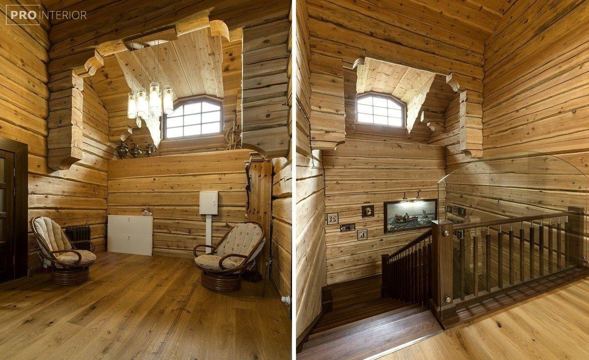 русский стиль комнаты в интерьере