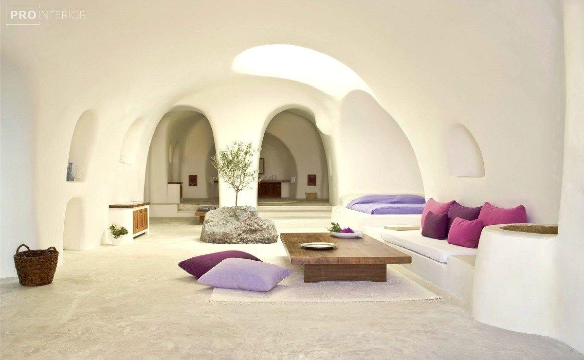 санторини дизайн интерьера