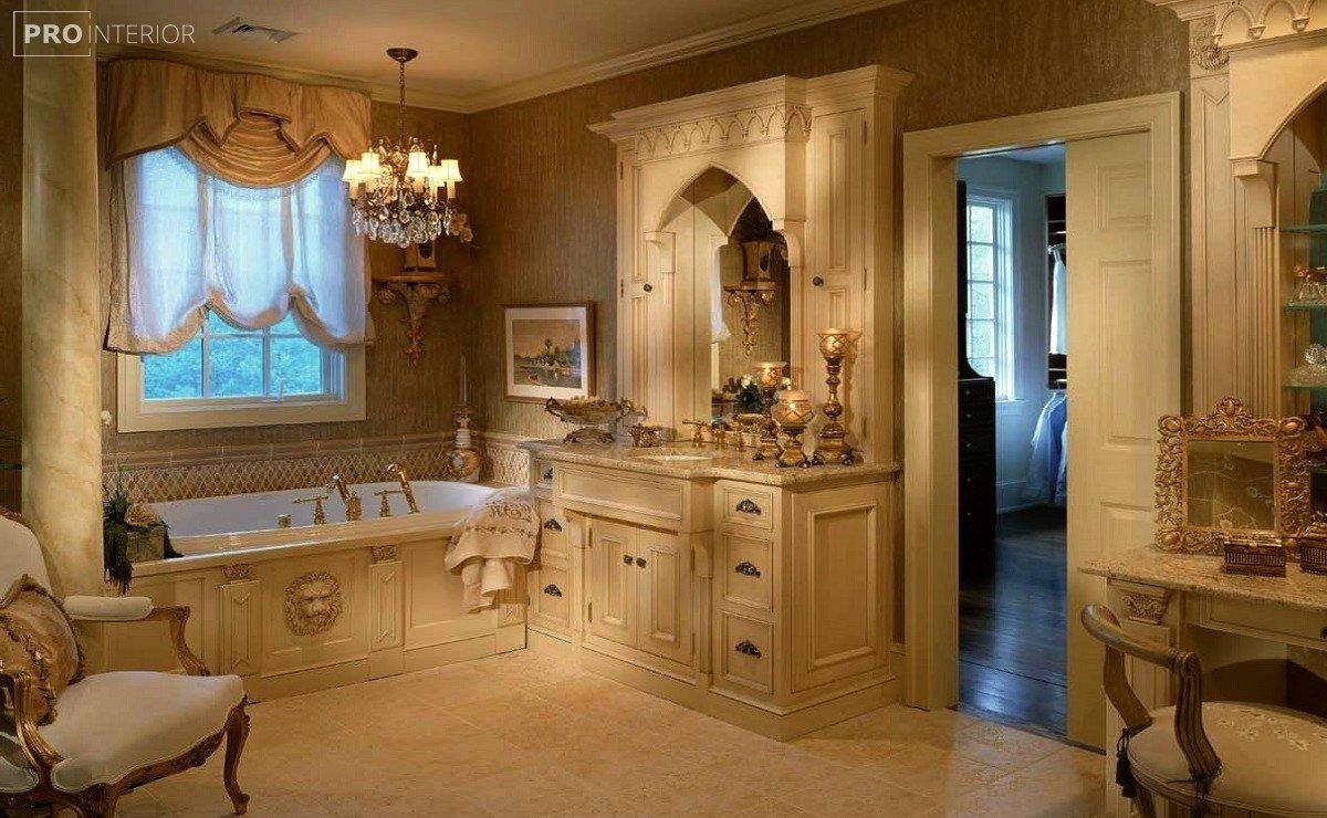 фото ванна у вікторіанському стилі