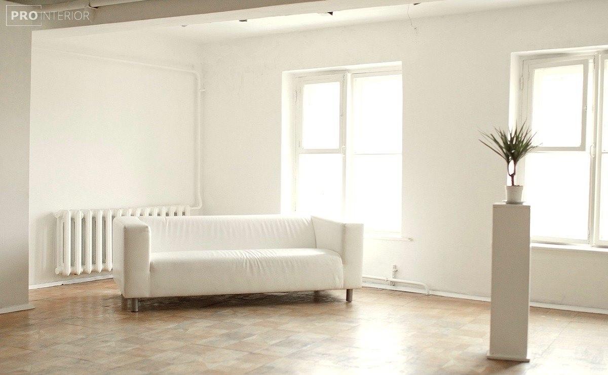 інтер'єр в білому кольорі