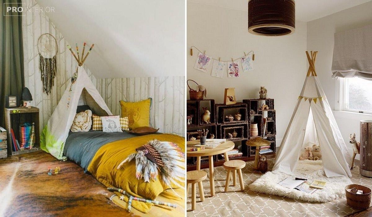 комната в индейском стиле