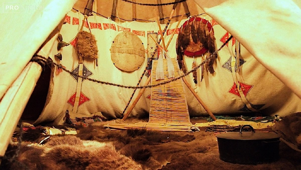 wigwam of the North American Indians