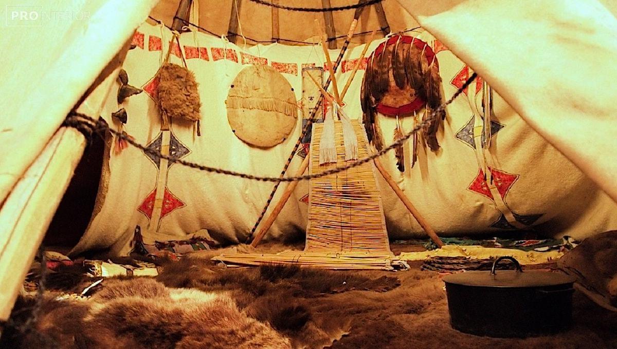 вигвам североамериканских индейцев