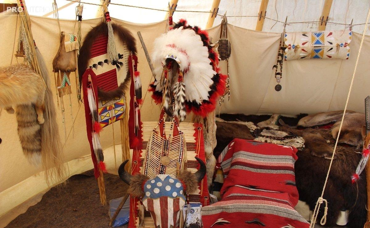 убранство индейцев