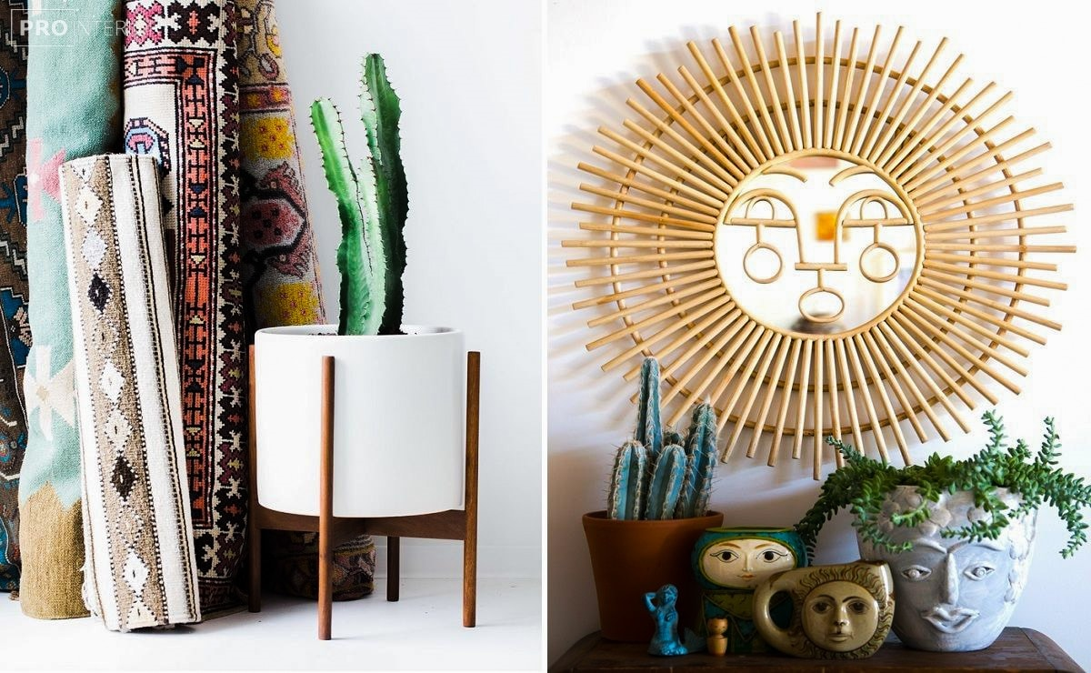 отделка и декор в индейском стиле