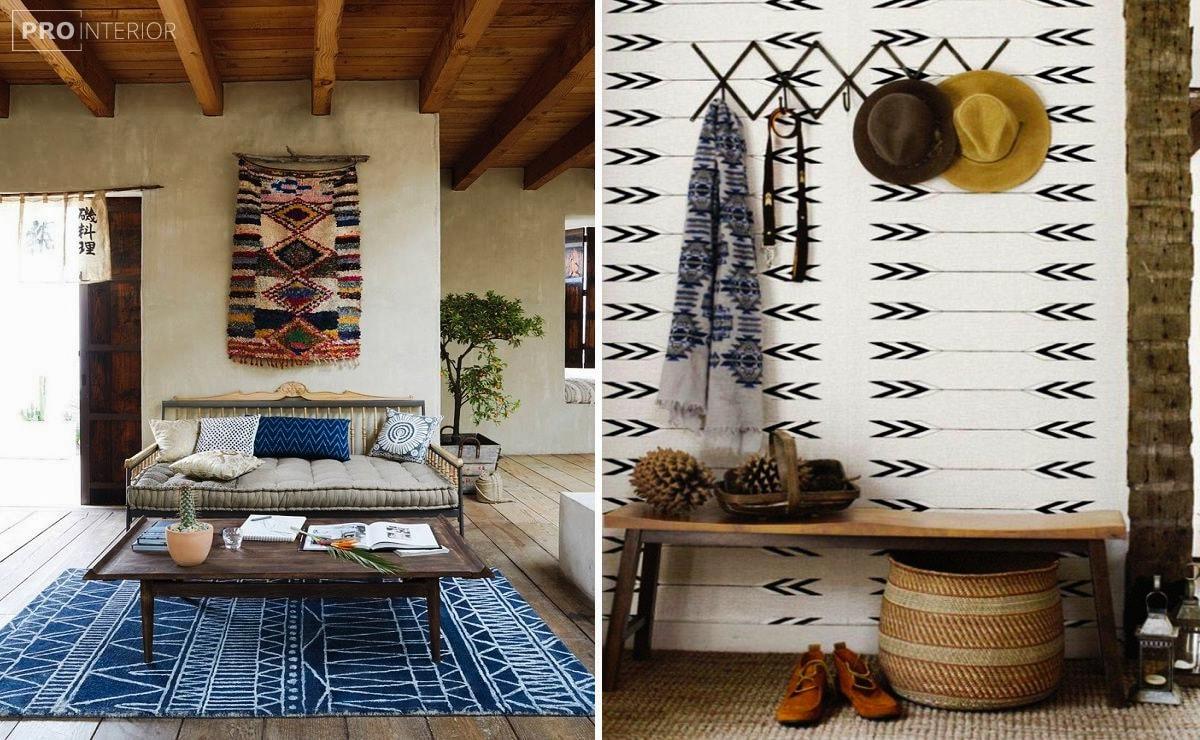 мебель в интерьере индейцев