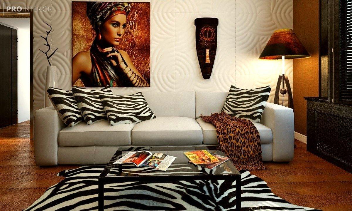 африканський стиль в інтер'єрі