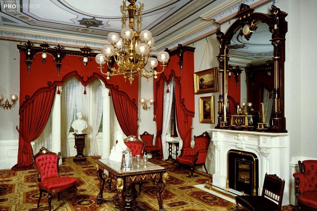 photo Empire style in the interior
