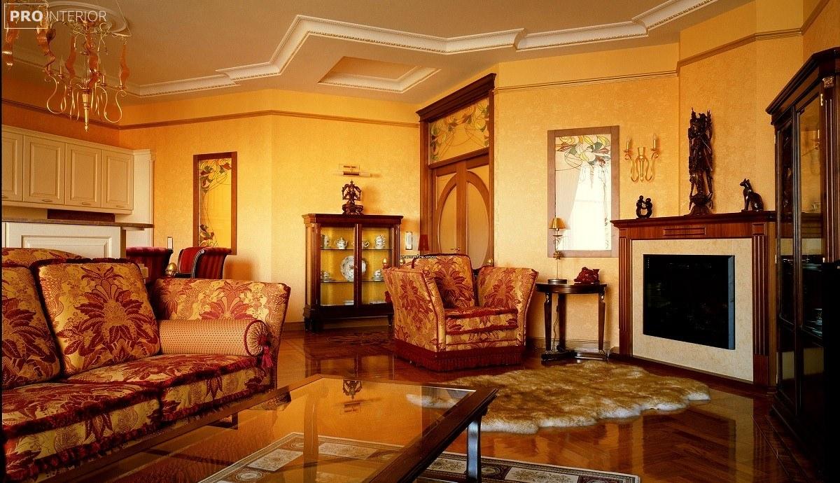 Empire living room interior