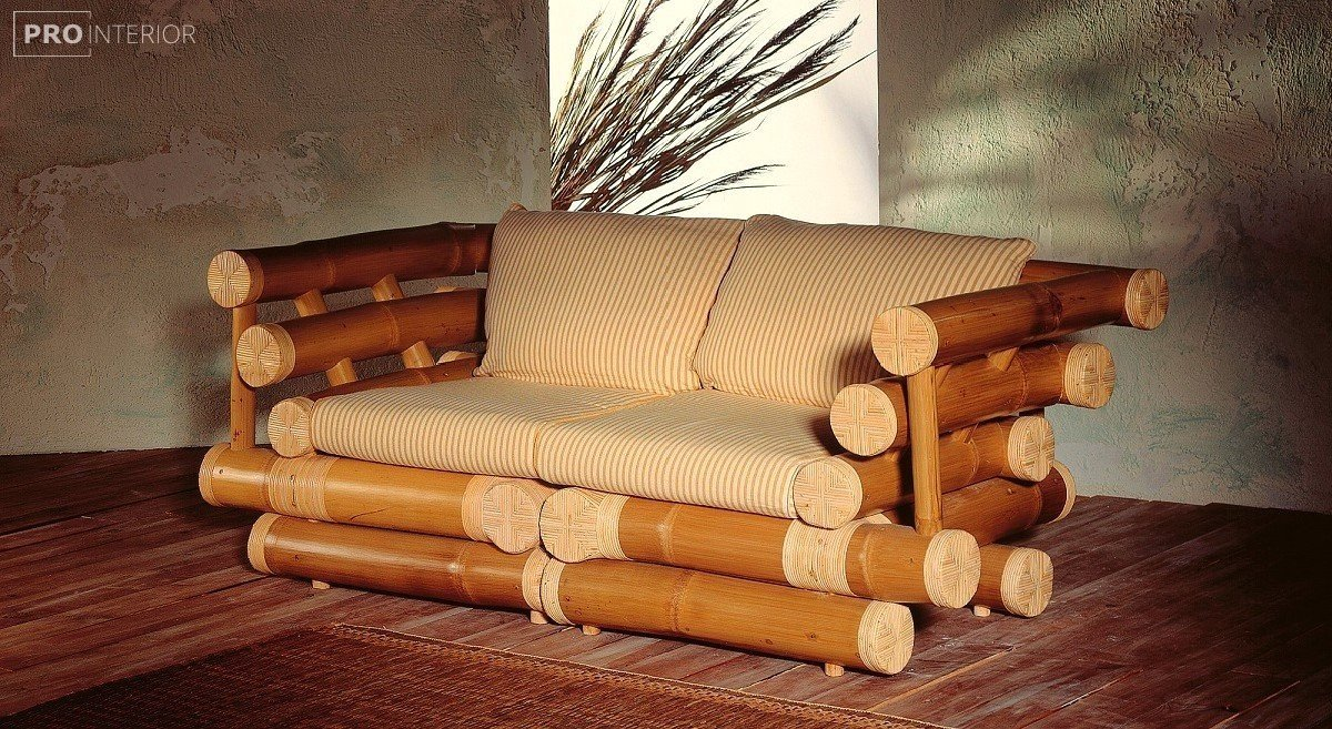 bamboo in the interior