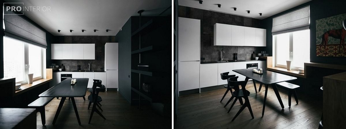 фото будинку з чорними стінами