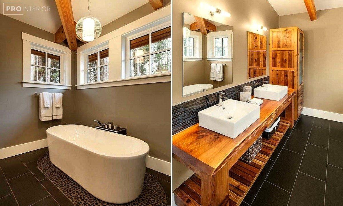 ванная в канадском стиле