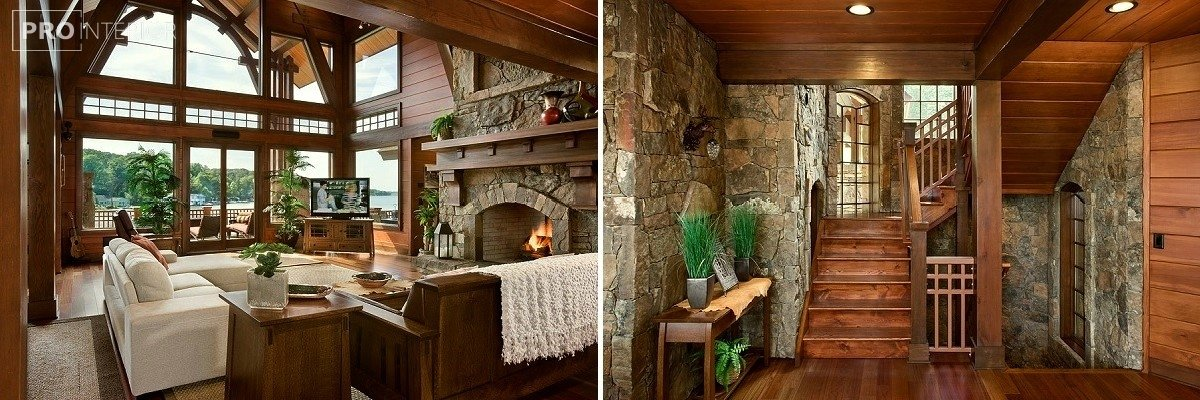 canadian-style interior design photo