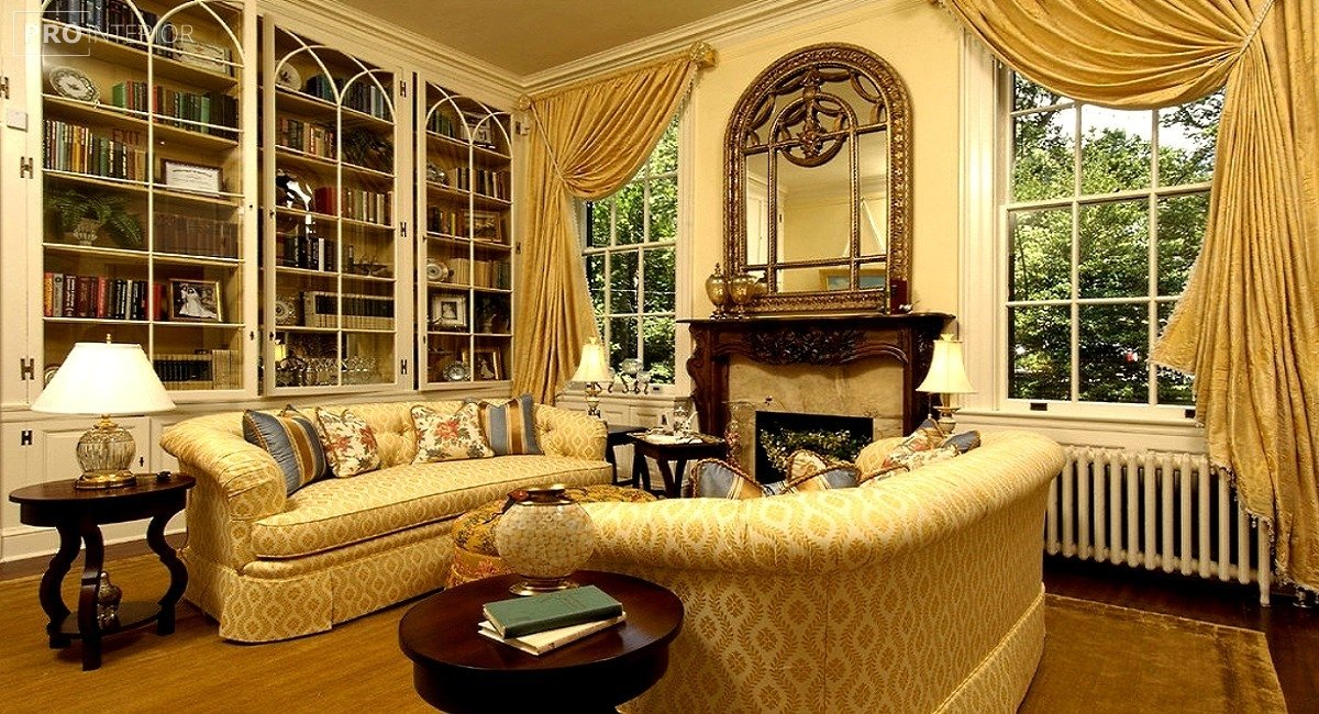 classic room style in the interior