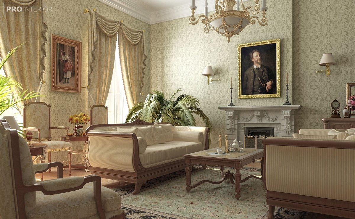 classic style in interior photo